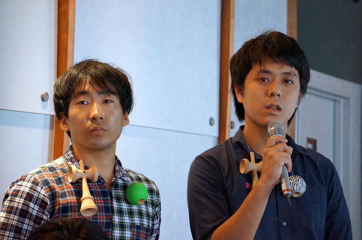 開発チームから2人が登壇