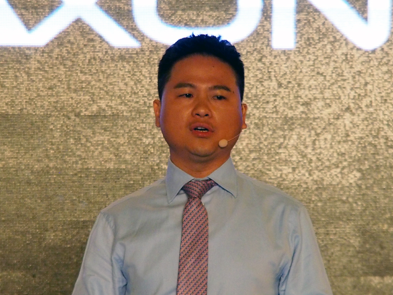 ZTEの端末部門CEO、曽学忠氏