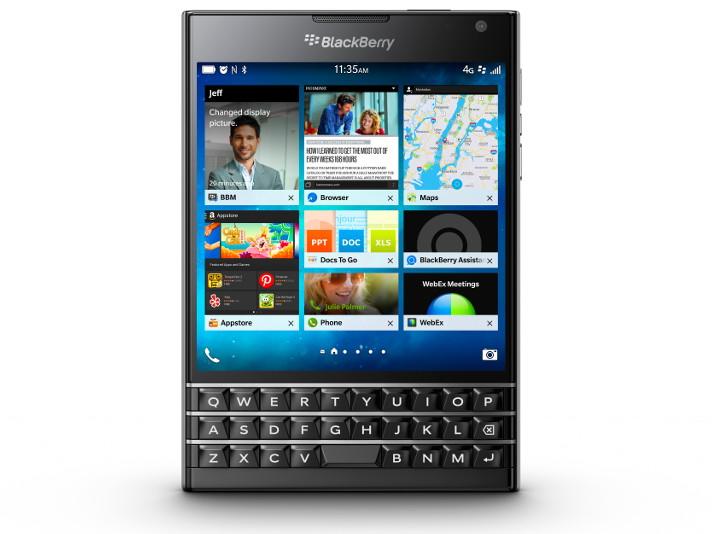 「BlackBerry Passport」