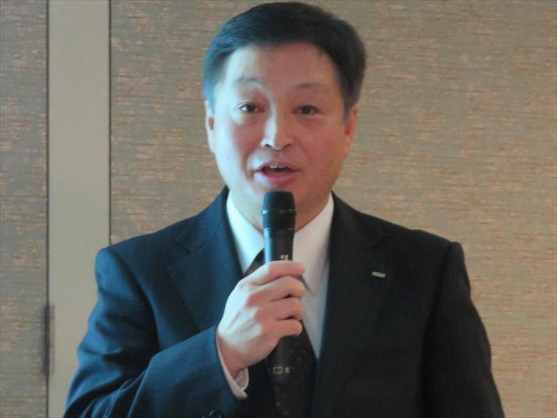 KDDI 理事 技術開発本部長の宇佐見正士氏