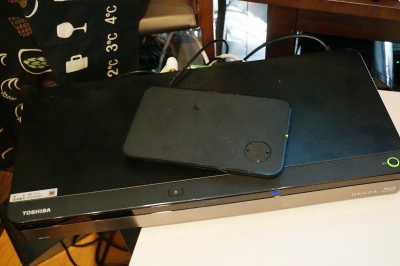 対応レコーダー「DBR-T670」と対応アダプター「BSCRTQ01/V」