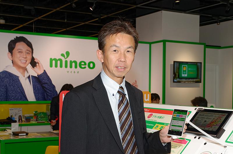 ケイ・オプティコム 経営本部 モバイル事業戦略グループの津田和佳氏
