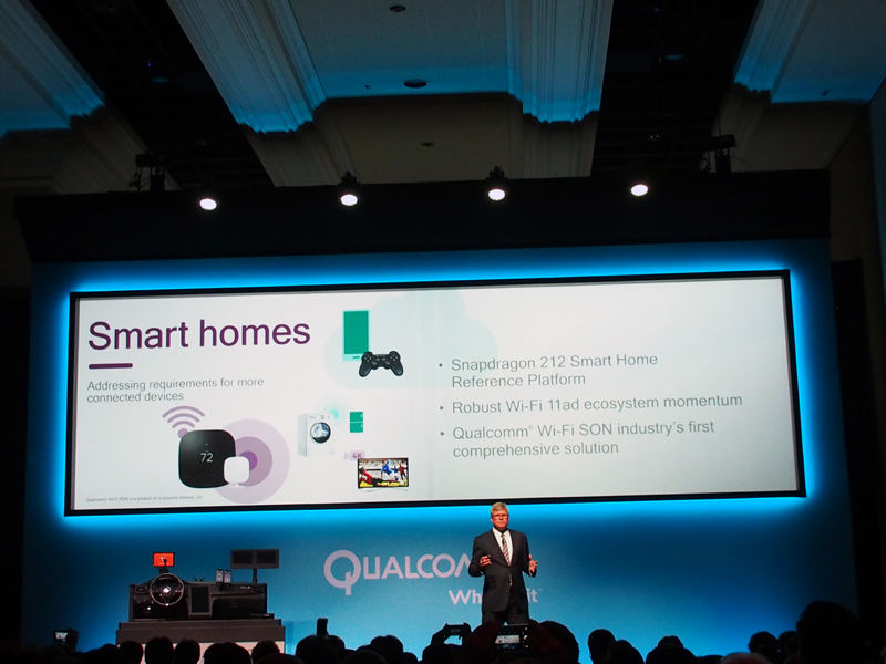 スマートホームや、ドローン向けのプラットフォームも紹介された