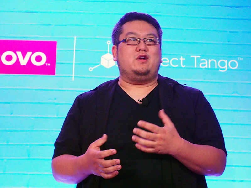 グーグルの、ジョニー・リー氏。マイクロソフトで、Kinnectの開発なども担当してきた人物だ