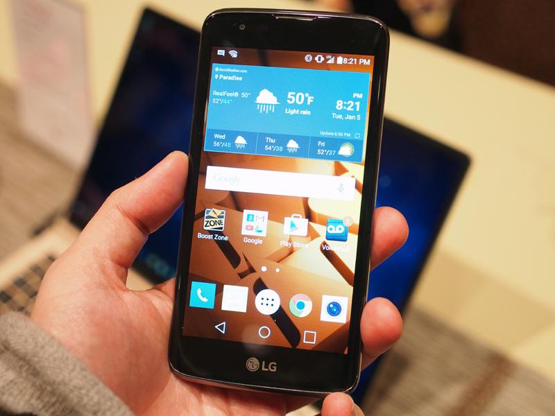 LGのミッドレンジモデル「K7」