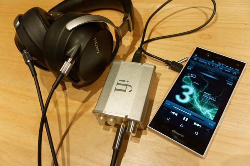 じっくり聞ける環境ではUSB DACを接続してのんびり音楽鑑賞したい