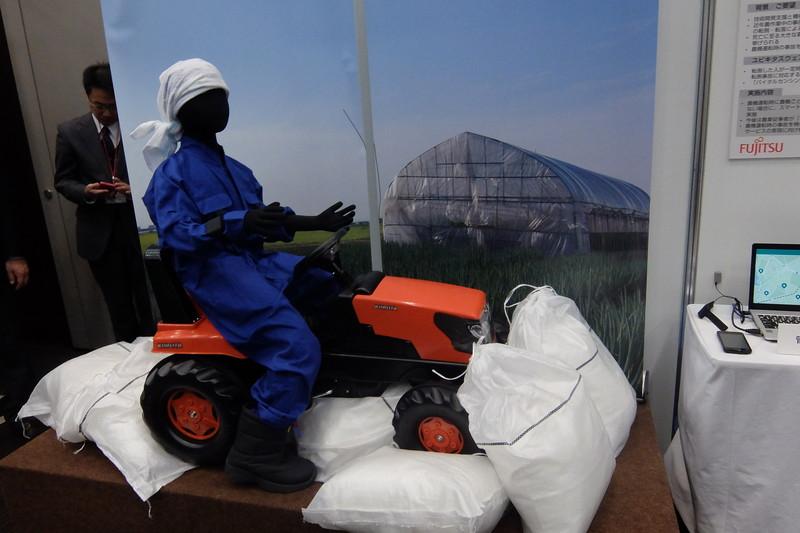 農作業者の状態を把握するサービスへの応用