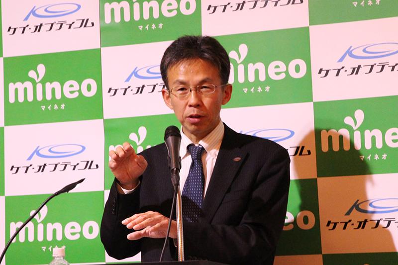 ケイ・オプティコム モバイル事業戦略グループ グループマネージャー 津田和佳氏