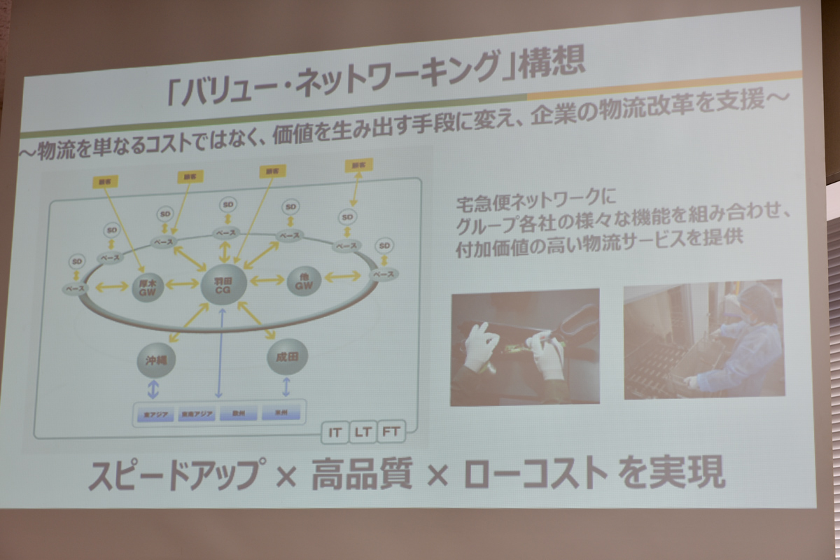 ヤマトグループの「バリュー・ネットワーキング」構想