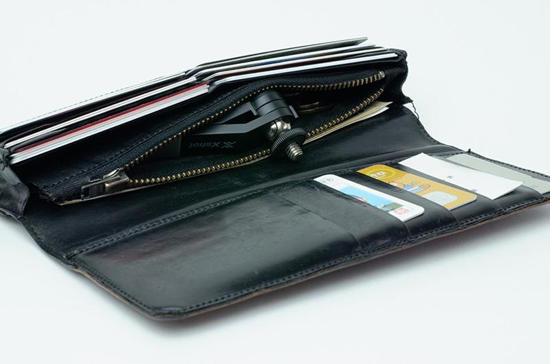 財布に入りそう、というか、入った