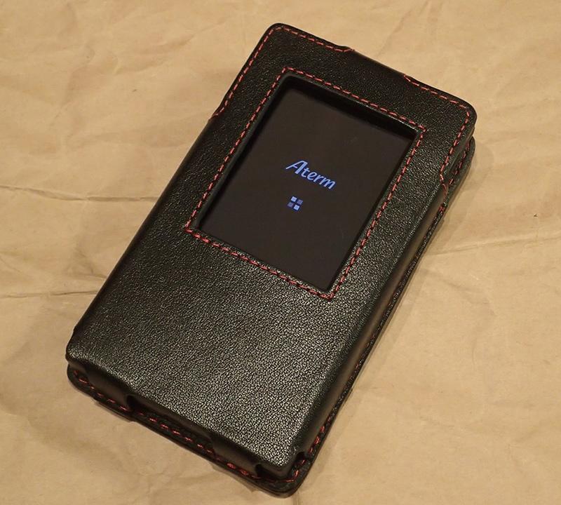 PDAケースで培った確実なモノづくりが活かされている