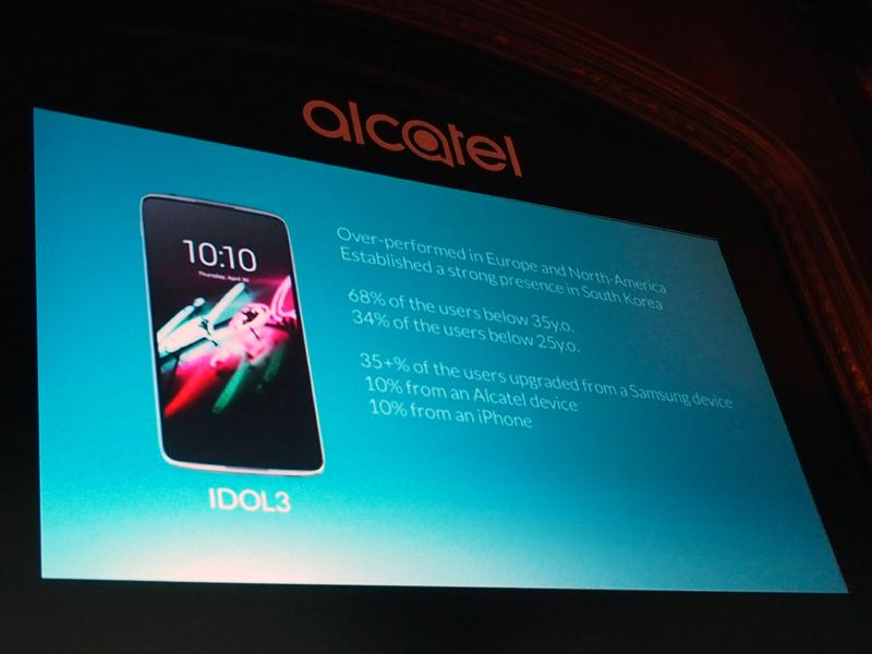 「IDOL 3」はTCLにとってのマイルストーンになったという