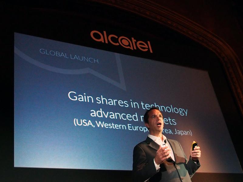 IDOL 3の投入によって、同社は大きなステップアップができたという