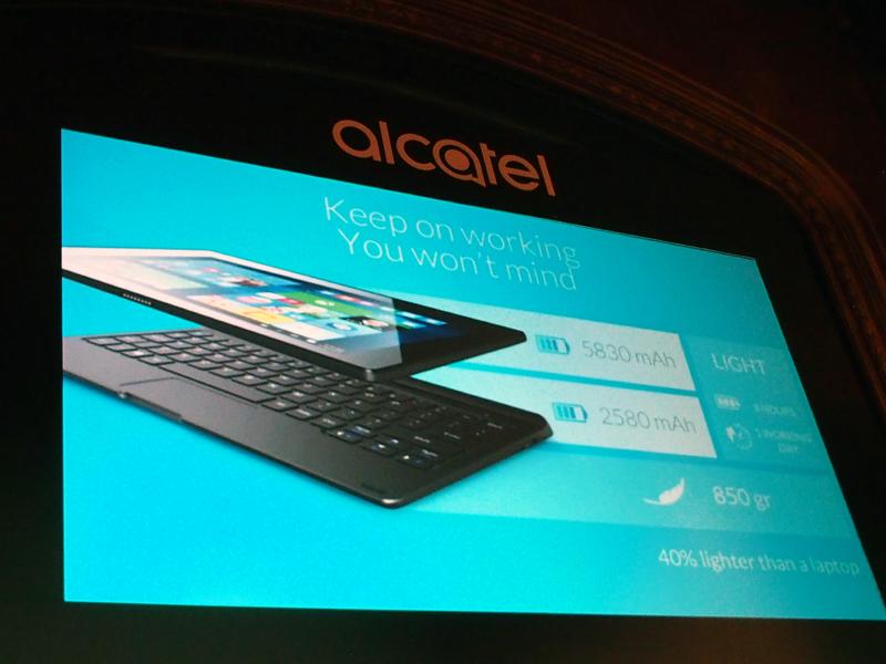 バッテリーはタブレット側とキーボード側それぞれに搭載