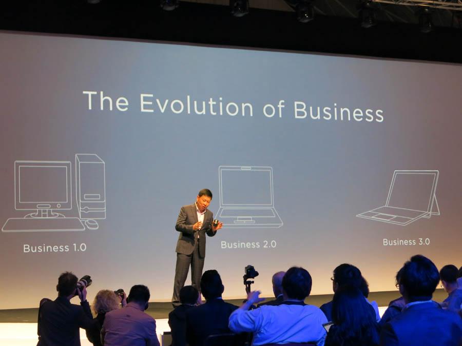 2in1はデスクトップ、ラップトップに続く「Business 3.0」だと定義