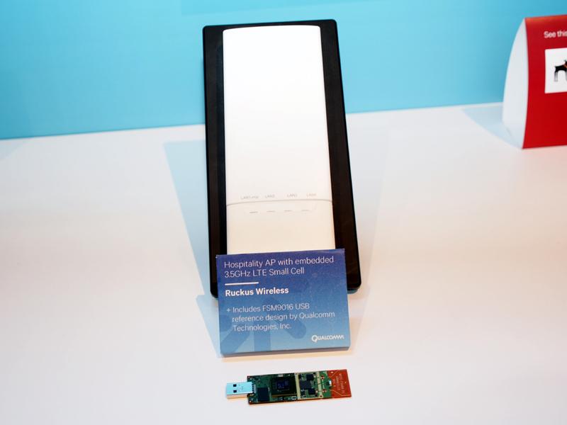 Wi-Fiアクセスポイントを3.5GHz帯のTD-LTE基地局化するソリューション