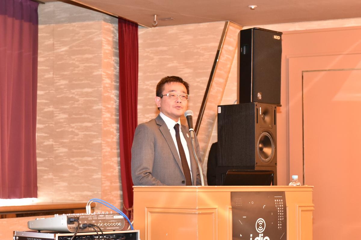 東京マルチメディア放送 代表取締役社長の藤勝之氏