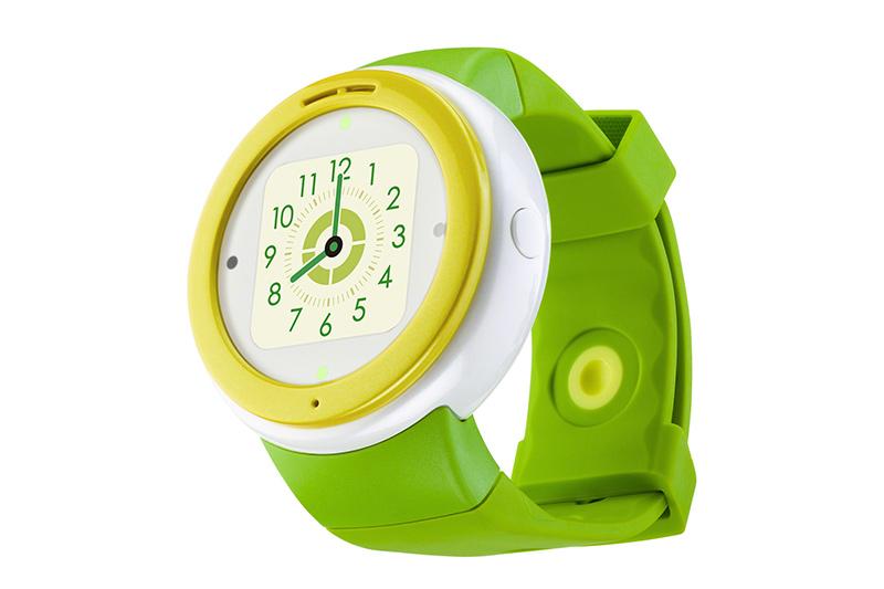 「mamorino Watch」ライムグリーン