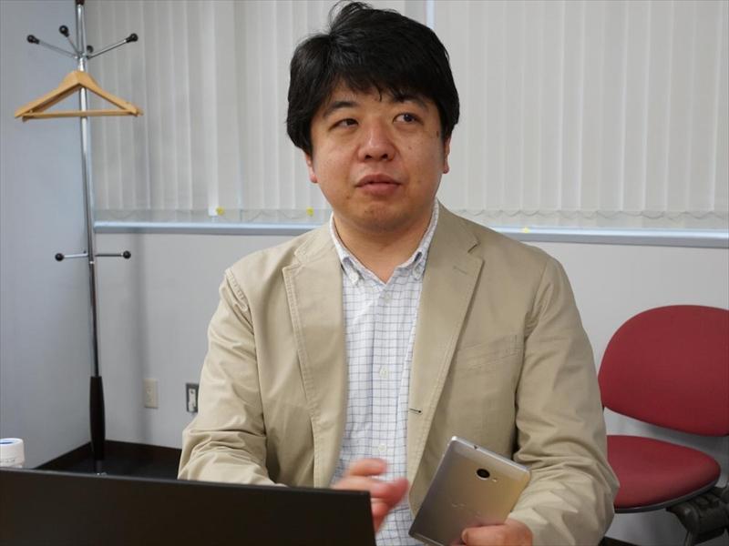 VAIO株式会社 商品企画部 商品企画担当の岩井剛氏