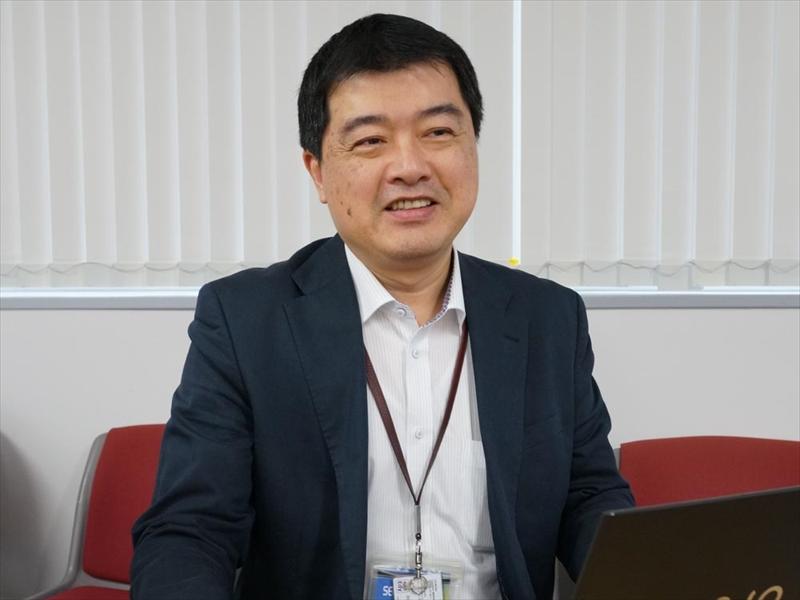 VAIO株式会社 ビジネスユニット2兼事業企画室兼商品企画部 ダイレクターの林文祥氏