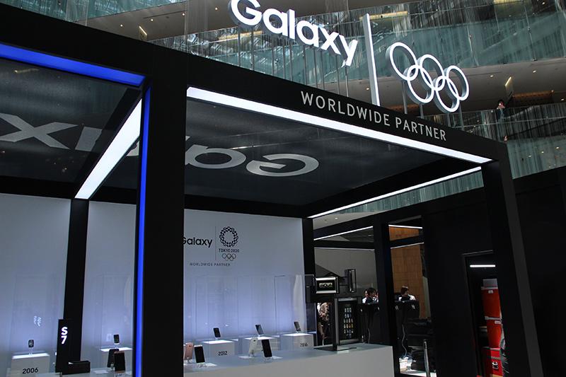 オリンピックの展示