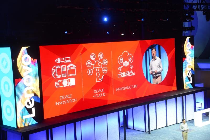 Lenovo の今後を支える3つの柱