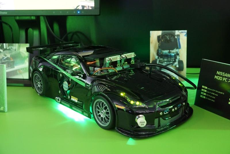 スポーツカー型PC