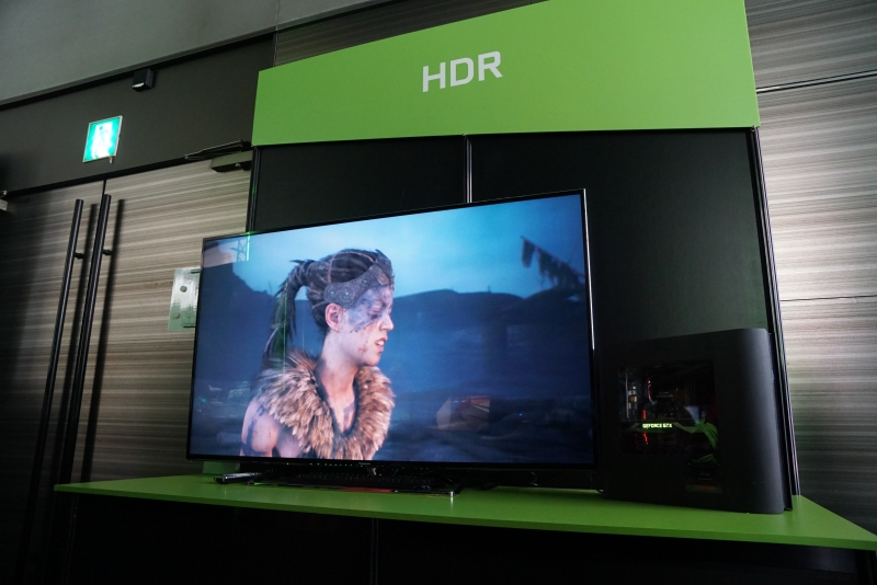 HDRのデモ