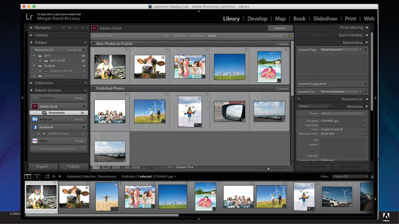 Adobe Stockコントリビュ-ター用プラグインのイメージ