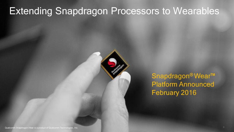 Snapdragon Wear 2100と1100の棲み分け