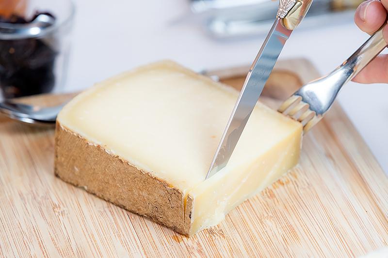 デザートの前のチーズ