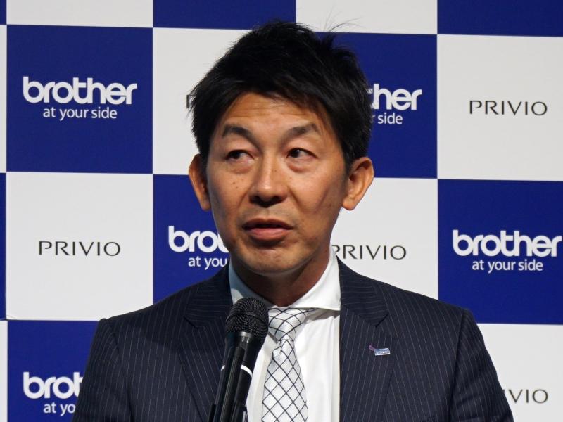 ラザー販売 マーケティング推進部長の伊藤英男氏