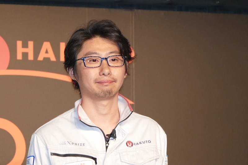 HAKUTO代表、株式会社ispace代表取締役 袴田武史氏