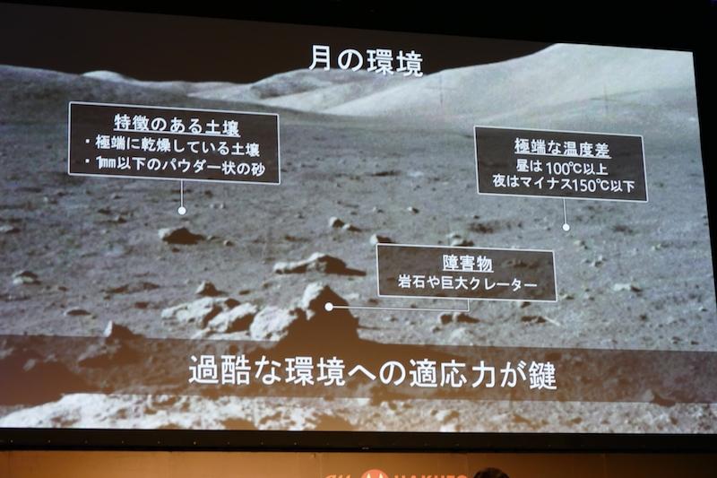 月面の環境