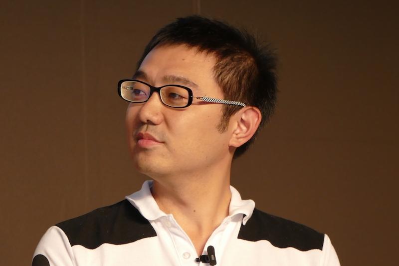 株式会社コルク代表取締役社長 佐渡島庸平氏。『宇宙兄弟』編集者