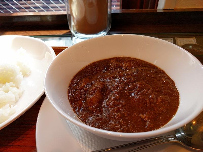 インドチキンカレー+黒糖マサラチャイ