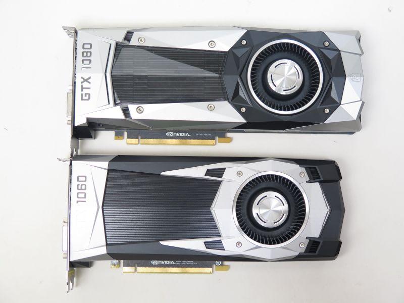 GeForce GTX 1080との比較