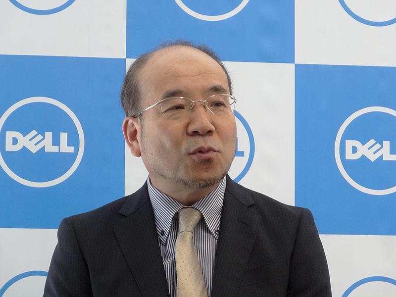 デル株式会社 OEMソリューションズ カントリー・マネージャー兼営業本部長 小山実氏