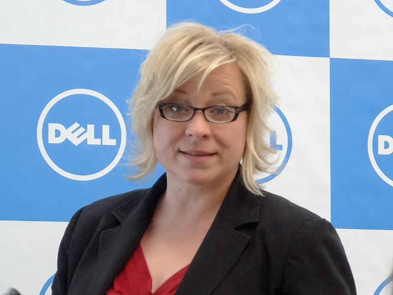 Dell IoTソリューショングループ Christine Frank氏