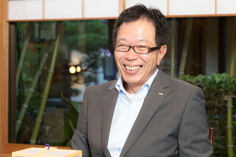 富士通クライアントコンピューティング株式会社代表取締役社長の齋藤邦彰氏