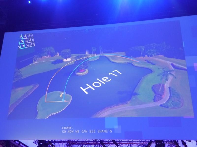 PGAがHoloLensを採用
