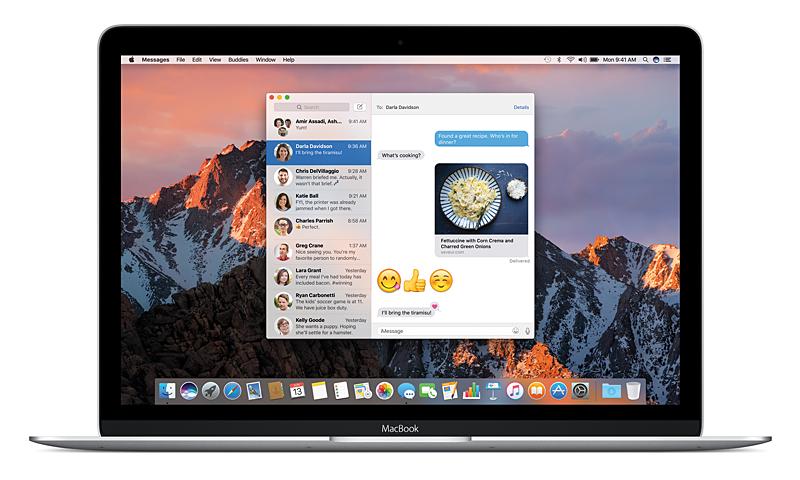 macOS Sierra、iOS 10のメッセージアプリでは、サードパーティーがステッカーを作成できる。多彩なステッカーがリリースされることに期待したい