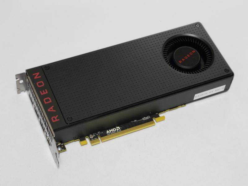 Radeon RX 480のリファレンスボード