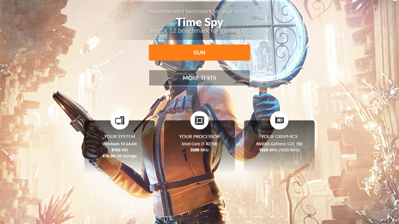 3DMarkに加わったDirectX 12用ベンチマーク「Time Spy」