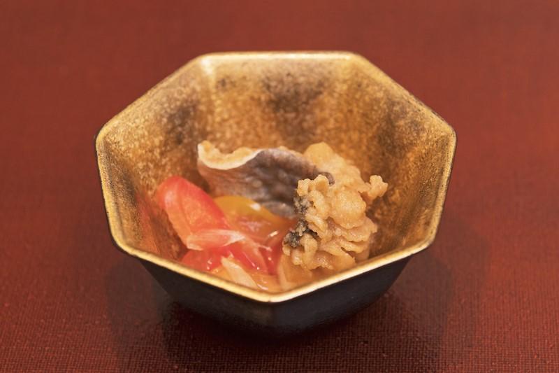 小鉢: 鱧南蛮漬け