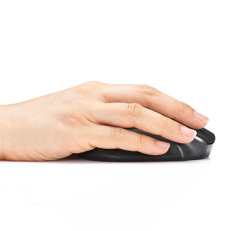 小指が机面に接しないエルゴエッジ構造