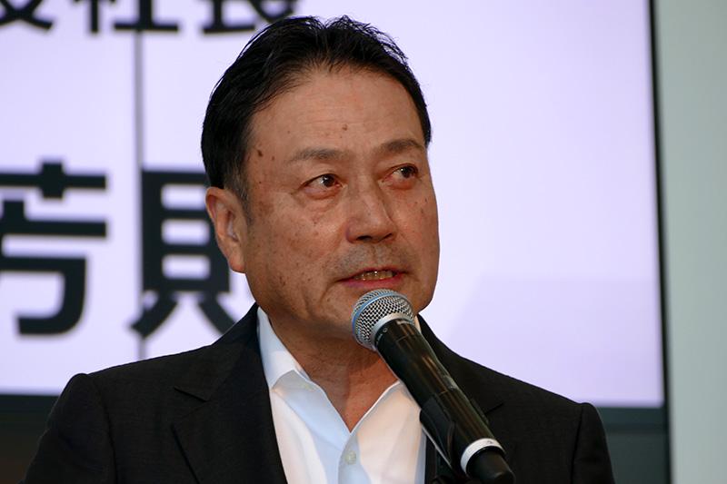 川崎重工業株式会社 代表取締役社長 金花芳則氏