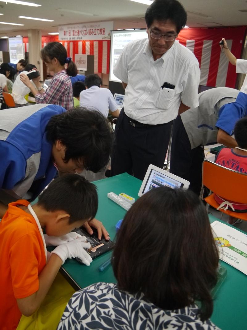 開発、設計を統括する富士通クライアントコンピューティングの仁川進執行役員も関心を寄せる