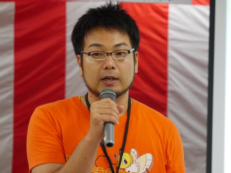 Smalrubyの開発者である高尾宏治氏が講師を務めた