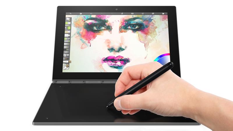 ワコムのペンはキーボード側で書くこともできる